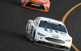 Keselowski runs out of gas, still wins at Kentucky Speedway