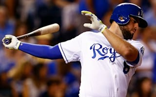Royals place Moustakas on 15-day DL with torn ACL