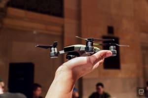 Conoce de cerca el DJI Spark: un potente dron en la palma de tu mano