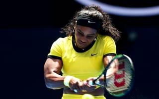 Routine start for Serena and Sharapova, as Wozniacki tumbles