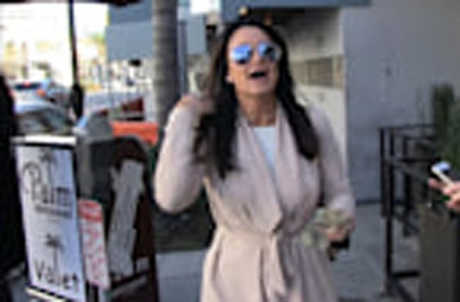 KYLE RICHARDS -- IF KELLYANNE BECOMES A HOUSEWIFE, I'LL PASS