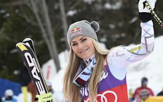 Vonn 'happy and relieved' after securing record downhill globe
