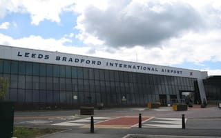 Plane crash at Leeds airport causes delays