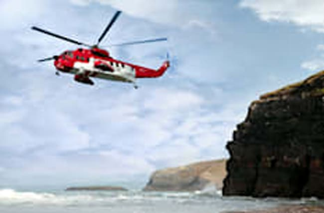 Search launched for helicopter missing over Irish Sea