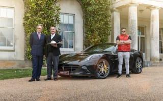 Ferrari California delivers special Goodwood breakfast