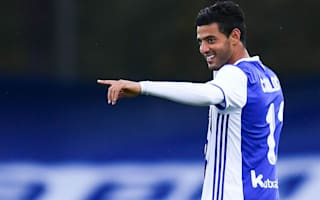 Vela not expecting Real Sociedad Champions League return