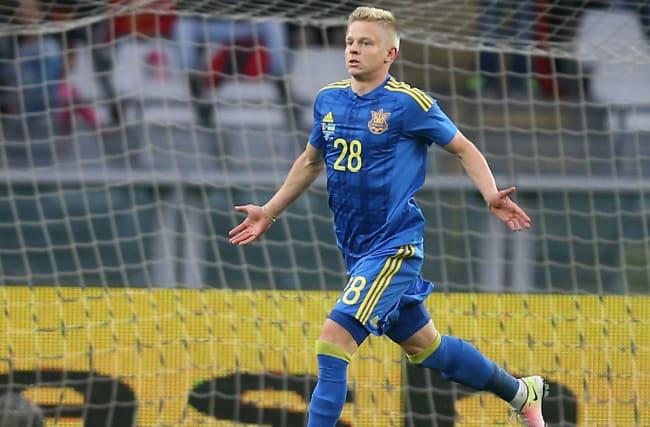 Zinchenko handed Ukraine call-up