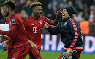 Ribery not afraid of Coman competition