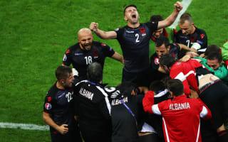 Romania 0 Albania 1: Sadiku seals famous win