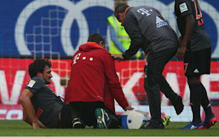 Bayern facing defensive headache after Hummels limps off at Hamburg