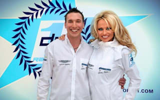 Pamela Anderson launches a racing team
