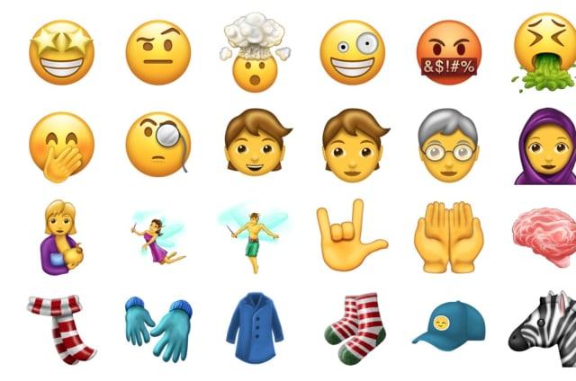 Estos son todos los emojis nuevos que llegarán en junio a tu teléfono