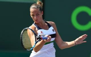 Pliskova, Cibulkova through at rain-interrupted Miami Open
