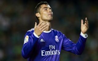 'Ronaldo didn't look anxious' - Zidane