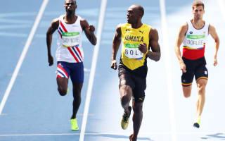 Rio 2016: Routine progression for Bolt, Gatlin in 200m heats