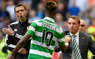 Rodgers delighted for Dembele after derby rout