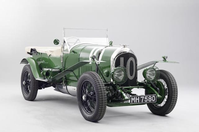 Classic Bentley heads to London Classic Car Show