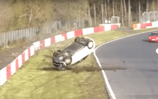 Video shows Civic Type R horror crash on the Nurburgring