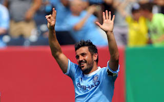 Villa, Pirlo and Kaka headline MLS All-Star squad to face Arsenal