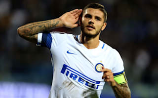 Empoli 0 Inter 2: Icardi at the double in storming first half