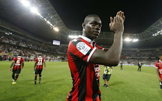 Balotelli nets twice on Nice debut