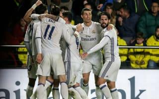 Real Madrid equal longest scoring streak in Spanish history