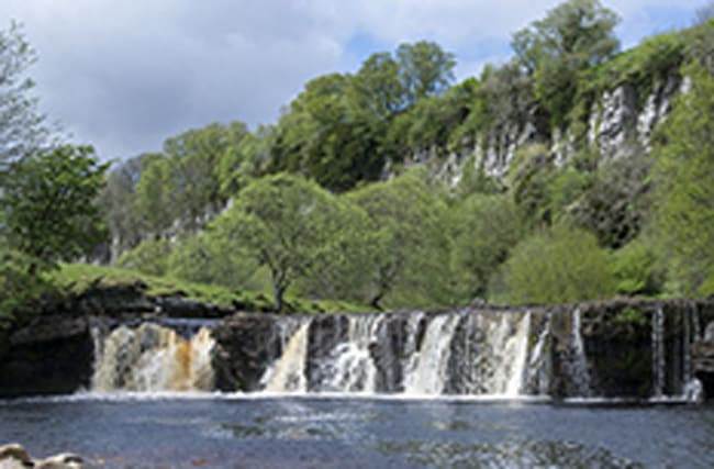 Teenager dies after swimming at Yorkshire waterfall