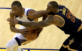 Durant stars as Warriors dominate Cavs in NBA Finals opener