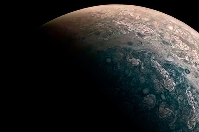 Alucina con las imágenes de Júpiter que ha capturado la sonda Juno