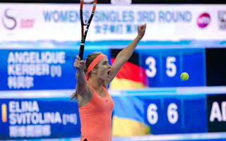 Svitolina too good for Kerber in Beijing, Halep outclassed