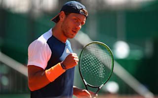 Pouille to face red-hot Bedene in Budapest final