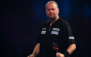 Van Barneveld sends power out, van Gerwen cruises through