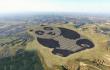 Una granja solar con forma de panda porque... es China