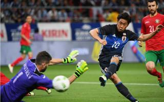 Japan 7 Bulgaria 2: Kagawa at the double in dominant win