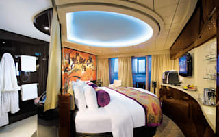 The world's most luxurious cruise cabins