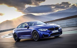 New BMW M4 CS takes on skydivers in launch video