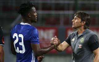 Batshuayi opens Chelsea account in friendly thrashing