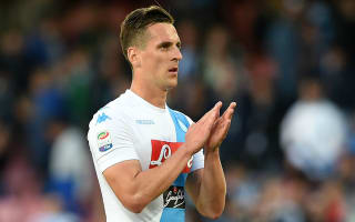 Milik skips holiday to focus on fitness
