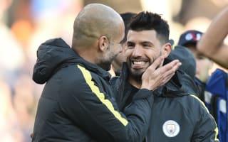 Guardiola: No change on Aguero's Man City future