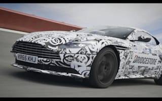 On-track with the new Aston Martin DB11