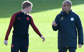 Guardiola eliminated City doubts - De Bruyne