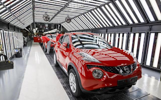 Factory output down as demand for UK-made cars slumps