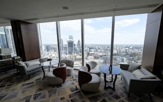 The Shard London opens The tallest hotel in Western Europe