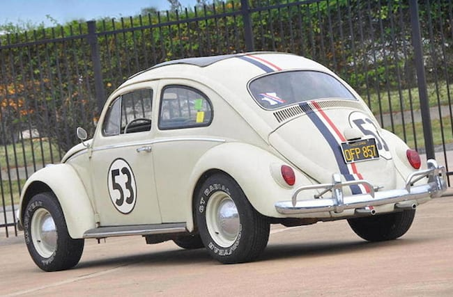 Herbie goes under the hammer