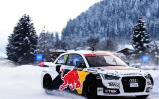 Audi hosts amazing ski slope event in Austria