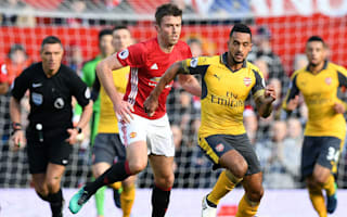 Arsenal deserved a point, says Walcott