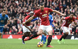 Blame me - Ibrahimovic accepts responsibility for Manchester United draw