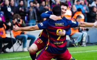 Barcelona 2 Atletico Madrid 1: Messi, Suarez earn Barca title advantage