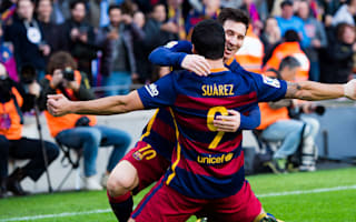 Barcelona 2 Atletico Madrid 1: Messi, Suarez earn Barca title advantage