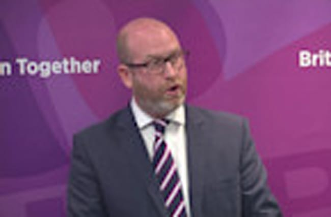Nuttall says strong leadership needed after concert attacks